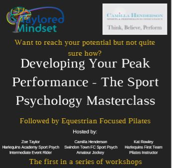 Developing Your Peak Performance – The Sport Psychology Masterclass