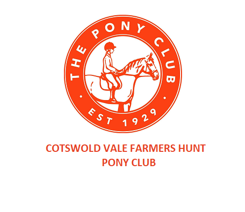 Cotswold Vale Farmers Hunt Pony Club – Pre camp rallies  for Minis and Juniors