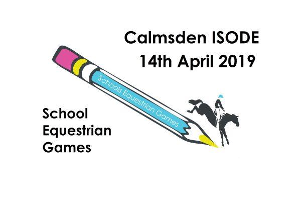 Schools Equestrian Games ODE Qualifier at Calmsden