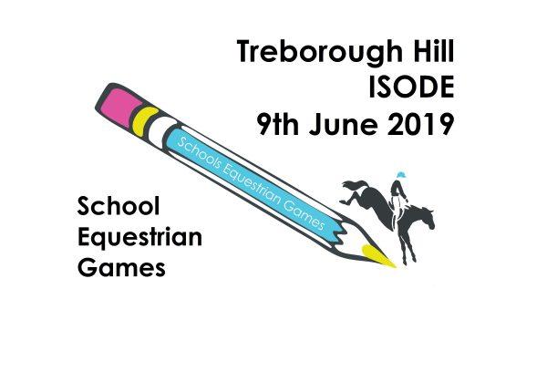 Schools Equestrian Games ODE  Qualifier at Treborough Hill