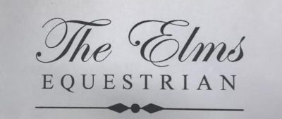 The Elms Equestrian  sponsors AREA 11 TEAM & INDIVIDUAL SHOW JUMPING QUALIFIER